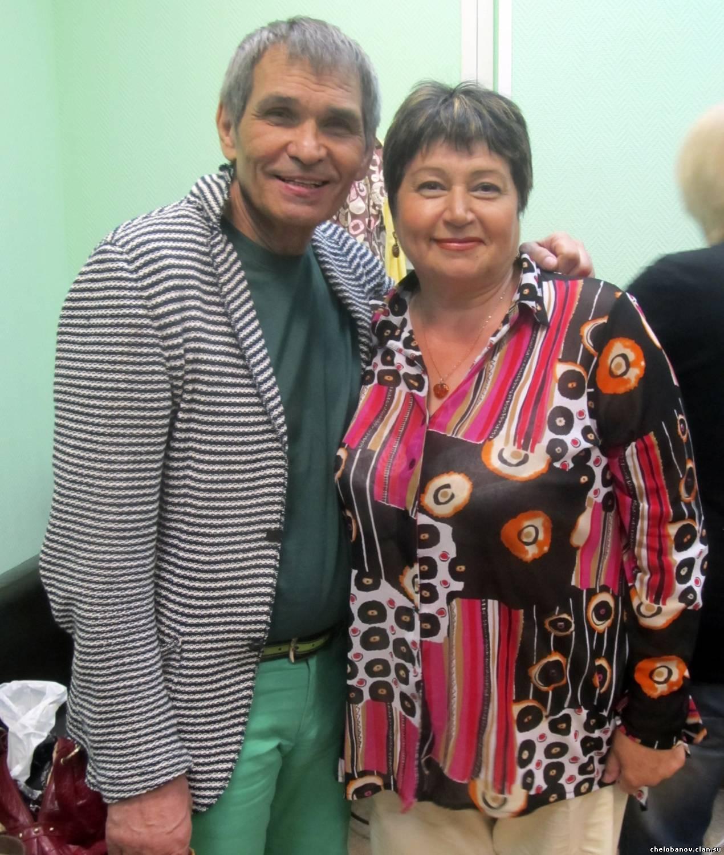 Бари Алибасов с тётей Сергея Челобанова